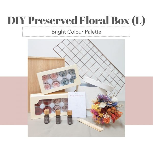 DIY Floral Box (L) - Bright