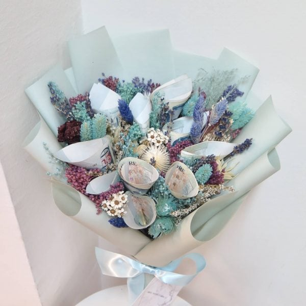 Money Bouquet - Mint