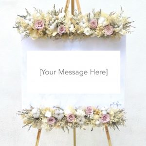 Preserved Flower Stand