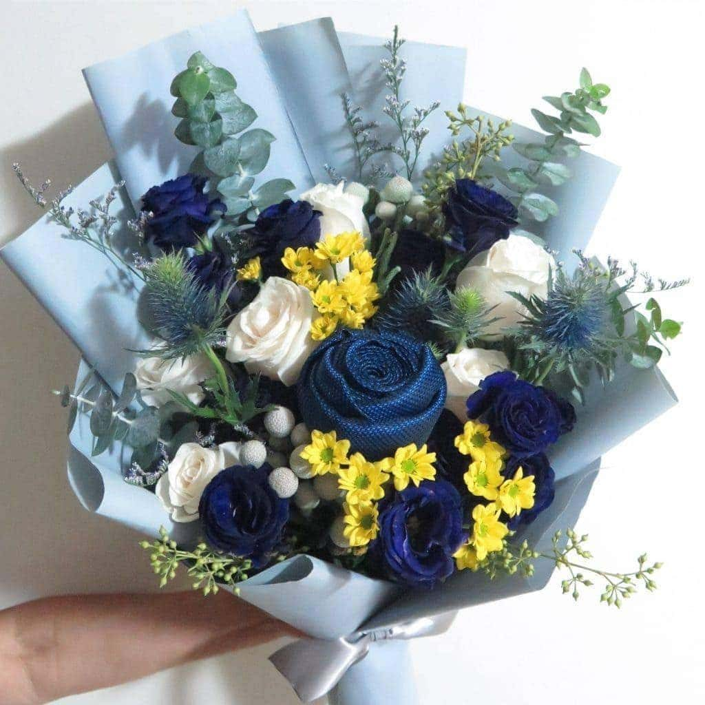 MEN'S TIE Bouquet